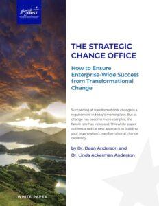 Enterprise Transformational Change White Paper
